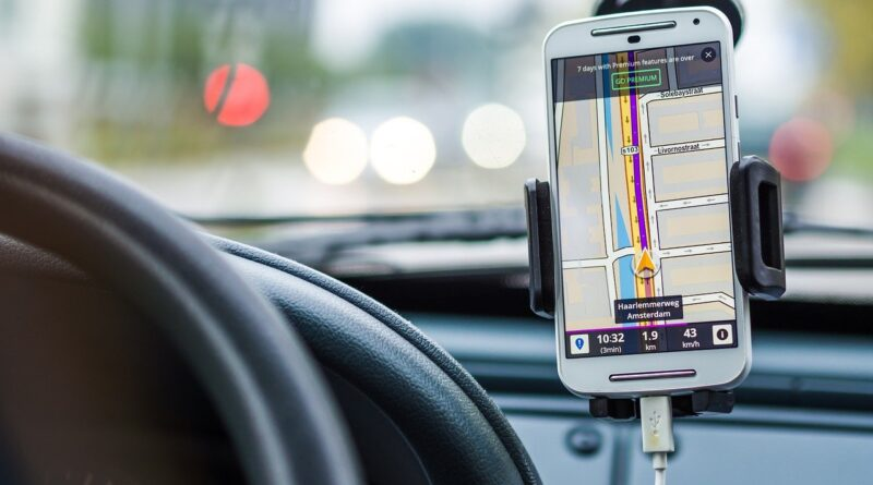 support gps voiture
